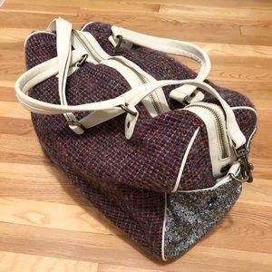 🎉HP🎉 Anthropologie Deux Lux Weekender Duffle Bag